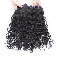 China Water Wave Human Hair Weave 8-26 Inch Extension Remy Curly 1/3/4 PCS Hair Bundle on sale