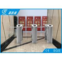 Quality Semi Automatic Half Height Turnstile Access Control Systems 30 Person / Min for sale
