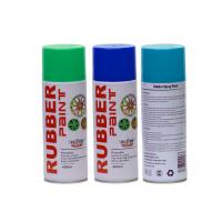 Quality 400ML Green Rubber Coat Spray Paint , Exterior Blue.green ,red Plasti Dip Wheel Paint for sale