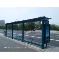 Quality 8mm tempered / toughened glass for bus station with ISO9001, CE, Australia  AS/NZS 2208 Certificate for sale