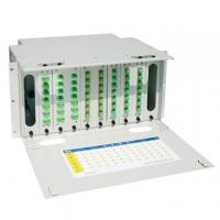 Quality Self Locking 24 Core Fiber Optic Distribution Frame , Optical Fiber Patch Panel for sale
