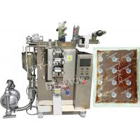 Buy cheap Ketchup / Skin Lotion Automatic Pouch Packing Machine , Vertical Form Fill Seal from wholesalers