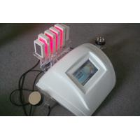 Quality Multipolar RF Fat Dissolving Lipo Laser Slimming Machine With Color Screen for sale