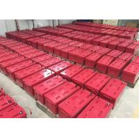 Quality Red M8 Front Terminal Battery For Digital Channel Station , 12v180ah Capacity for sale