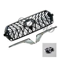 Quality Chrome Adge Car Front Grill For Toyota Prado Fj200 2016-2018 OE Standard for sale