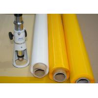 Quality Low Elasticity 102 Inch Polyester Bolting Cloth , 110 Mesh Screen For Ceramics Printing for sale
