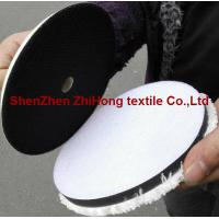 Quality High quality woolen/ fleece hookit sanding grinder hook and loop disc pad for sale