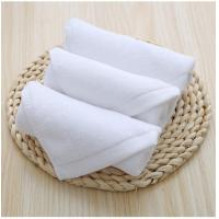 China Plain Design Wholesale Luxury 30*30cm Cotton Terry Towels Hotel Hand Towel on sale
