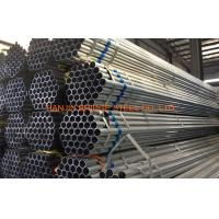 "Quality 2"" / 6"" Q215 ERW Pre Galvanized Steel Pipe Round Tube Corrosion Resistant for sale"