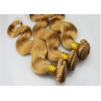 Quality Peruvian 27 Color Remy Human Hair Extensions Body Wave Can Be Restyled for sale