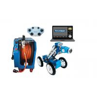 China 4 Wheel Drive Pipe Inspection Crawler , Sewer CCTV Equipment With Portable Power Supply on sale