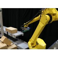 Quality Robot Palletizing System / Automatic Palletizer Machine For Sheet Materials Stacking for sale