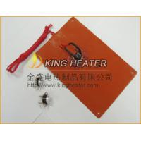 Quality silicone rubber heater with built-out thermostat for sale