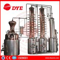 Quality 250gal customized Copper Alcohol Distiller Distillation Equipment for vodka gin used for sale