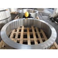Quality DIN 34CrNiMo6 Hot Rolled  Forged Steel Rings Hardness 30HRC - 40HRC Customized , Round Steel Blanks for sale