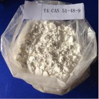 Buy cheap Levothyroxine L-Thyroxine / T4 Raw Steroid Powder CAS 51-48-9 for Fat Weight Loss from wholesalers