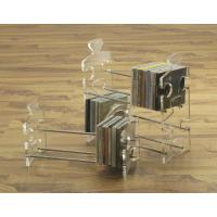 Quality cross shape acrylic CD display rack with 5 compartments for sale