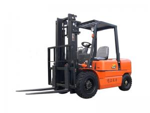 Quality ISO 20km/H 3.5 Ton Forklift , CPCD35 Diesel Forklift Truck for sale