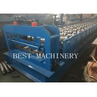 China Metal Steel Decking Floor Sheet Roll Forming Making Machine New Condition for sale