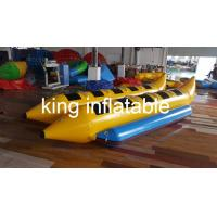 Quality 10 Ride Bouble Tube Water Inflatable Fly Fishing Boats for surfing water game for sale