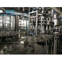 Quality ISO Certificated Pulp Juice Filling Machine ,SUS304 Hot Filling Machine 6000BPH for sale