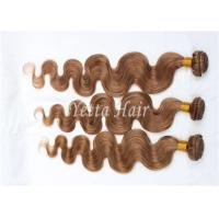 China Long Coloured 100 Virgin Human Hair Extensions Full Ends No Mixture on sale