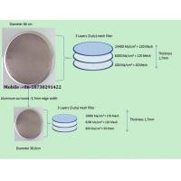 Buy 200micro Singel layter  Stainless Steel Disc Filter Screen mesh at wholesale prices