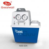 China Zhengzhou Greatwall 2-Head Recirculating Water Vacuum Pump SHB-III series on sale