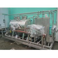 Buy cheap Small Integrated Conjoint CIP Cleaning System 1TPH SUS304 for Washing from wholesalers