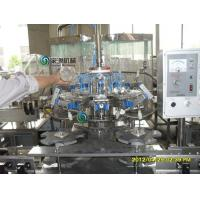 China Glass Bottle Hot Juice Filling Machines , Automatic Water Bottling Plant on sale