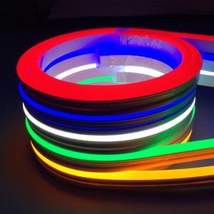 Quality Neon Rgb 5050 Led Strip Lights Waterproof 120 Leds / M IP68 12V 10MM Width PCB for sale