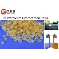 Quality Yellow Granular C9 Petroleum Hydrocarbon Resin HC - 9130 With Good Adhesive Strength for sale