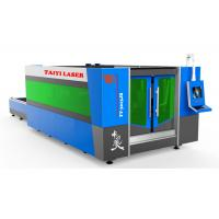 TY-3015JB Fiber Laser Cutting Machine with Protective cover and exchange table