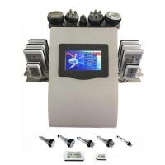 Quality Portable 6 In 1 Cavi - lipo Ultrasound Cavitation Machine 40K Cavitation RF Multipolar Tripolar Vacuum Laser for sale