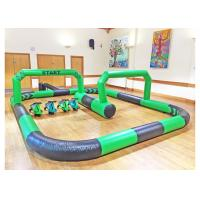 Funny Inflatable Sports Games Bicycle Racing Theme Customized Size For Children