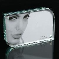 Quality hot sale curving transparent acrylic photo frame for sale