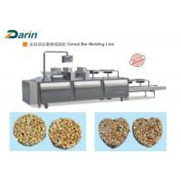 Quality Muesli Bar / Ball Bar Forming Machine , Cereal Bar Equipment CE ISO9001 for sale
