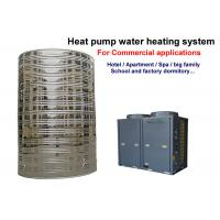 Quality Heat Pump Small Commercial Water Heater R407C / R410A Refrigerant Low Noise for sale