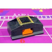 Quality Plastic 2 Deck Automatic Card Shuffler With One Camera For Baccarat Cheating for sale