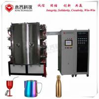 Quality Glass Ware PVD Glass Coating Equipment With Robust Rotational System Design for sale