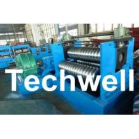 Quality 0.25 - 4.0mm 3 Sets Rollers Corrugated Sheet Bending Machine With 0 - 10m/min Speed for sale