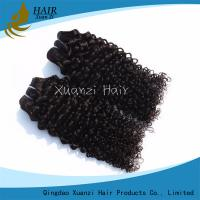Quality Curly Virgin Human Hair Extensions 7A 100% Virgin Hair Long Lasting for sale