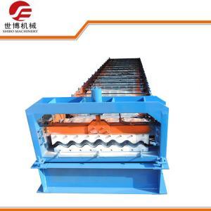 China 780 Model Aluminium Corrugated Roll Forming Machine / Roof Tile Roll Forming Machine on sale