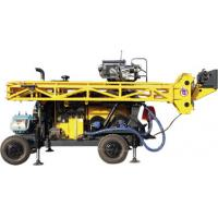 Quality HWL Drilling Depth 1000m  Wheel Trailer Hydraulic Core Drilling Machine for sale