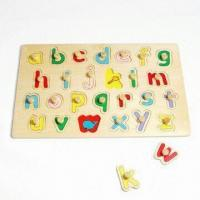 Quality Letter Puzzle, Made of Wood for sale