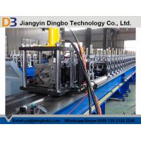 Buy cheap 1.8 - 2.3mm Thickness Storage Rack Roll Forming Machine With CR 12 Mould Hydraulic Cutting from wholesalers