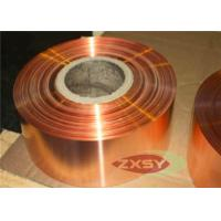 Buy Beryllium Shiny Coarsed Copper Sheet With 8 - 20um , Rolled Copper Foil at wholesale prices