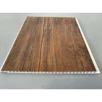 Quality 10 Inch Wooden laminate ceiling panels Thickness 7.5mm For Ceiling for sale