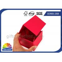 Quality Custom Flat Fold Up Box / Foldable Paper Box Logo Printing Easy Shipping for sale