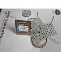 Buy Perforated Base Insulation anchor Pins For Reinforceing Sound Absorbing Fabrics at wholesale prices
